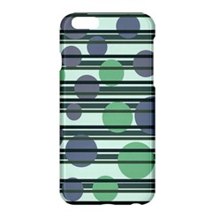 Green simple pattern Apple iPhone 6 Plus/6S Plus Hardshell Case