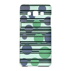 Green simple pattern Samsung Galaxy A5 Hardshell Case
