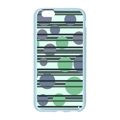 Green simple pattern Apple Seamless iPhone 6/6S Case (Color)