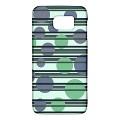 Green simple pattern Galaxy S6