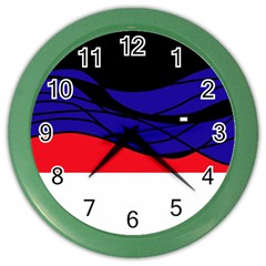 Cool obsession  Color Wall Clocks