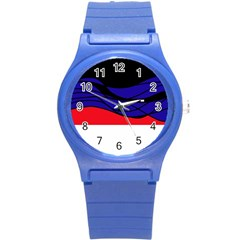 Cool obsession  Round Plastic Sport Watch (S)