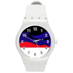 Cool obsession  Round Plastic Sport Watch (M)