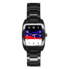 Cool obsession  Stainless Steel Barrel Watch