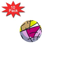 Fair skater  1  Mini Magnet (10 pack)