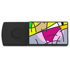 Fair skater  USB Flash Drive Rectangular (1 GB)