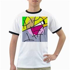 Fair skater  Ringer T-Shirts