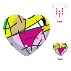 Fair skater  Playing Cards (Heart)