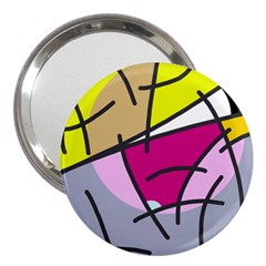 Fair skater  3  Handbag Mirrors
