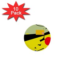 Party in the desert  1  Mini Buttons (10 pack)