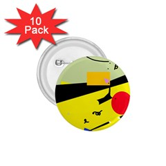 Party in the desert  1.75  Buttons (10 pack)