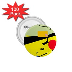 Party in the desert  1.75  Buttons (100 pack)