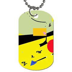 Party in the desert  Dog Tag (Two Sides)
