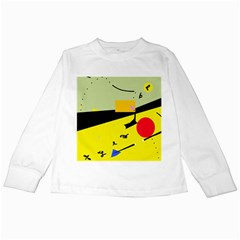Party in the desert  Kids Long Sleeve T-Shirts