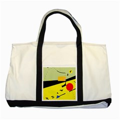 Party in the desert  Two Tone Tote Bag
