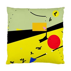 Party in the desert  Standard Cushion Case (One Side)