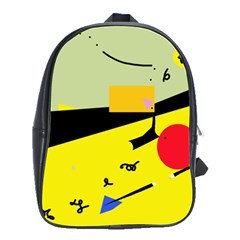 Party in the desert  School Bags(Large)