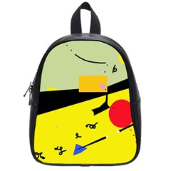 Party in the desert  School Bags (Small)