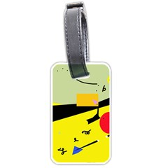 Party in the desert  Luggage Tags (One Side)