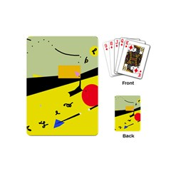 Party in the desert  Playing Cards (Mini)