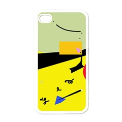 Party in the desert  Apple iPhone 4 Case (White)