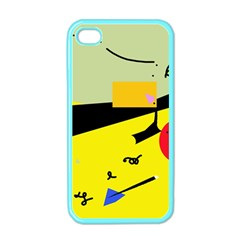 Party in the desert  Apple iPhone 4 Case (Color)