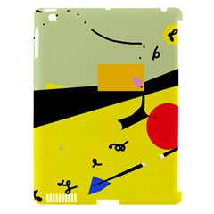 Party in the desert  Apple iPad 3/4 Hardshell Case (Compatible with Smart Cover)