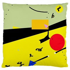 Party in the desert  Large Cushion Case (Two Sides)