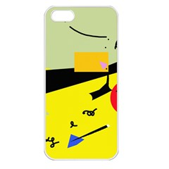 Party in the desert  Apple iPhone 5 Seamless Case (White)