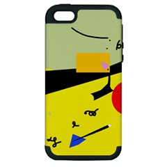 Party in the desert  Apple iPhone 5 Hardshell Case (PC+Silicone)