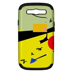 Party in the desert  Samsung Galaxy S III Hardshell Case (PC+Silicone)