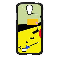 Party in the desert  Samsung Galaxy S4 I9500/ I9505 Case (Black)