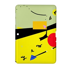 Party in the desert  Samsung Galaxy Tab 2 (10.1 ) P5100 Hardshell Case