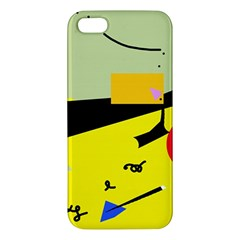 Party in the desert  iPhone 5S/ SE Premium Hardshell Case