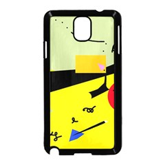 Party in the desert  Samsung Galaxy Note 3 Neo Hardshell Case (Black)
