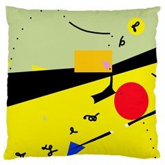 Party in the desert  Standard Flano Cushion Case (Two Sides)