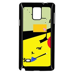 Party in the desert  Samsung Galaxy Note 4 Case (Black)
