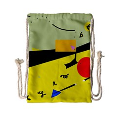 Party in the desert  Drawstring Bag (Small)