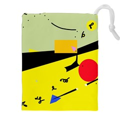 Party in the desert  Drawstring Pouches (XXL)