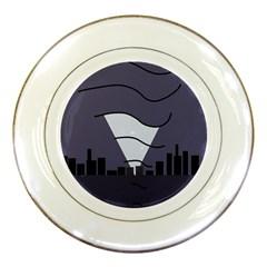 Tesla Porcelain Plates
