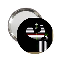 Abstract art 2.25  Handbag Mirrors