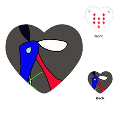Donkey Playing Cards (Heart)