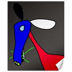 Donkey Canvas 16  x 20
