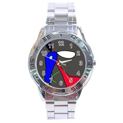 Donkey Stainless Steel Analogue Watch