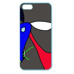 Donkey Apple Seamless iPhone 5 Case (Color)