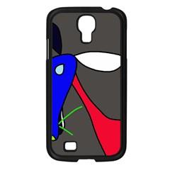 Donkey Samsung Galaxy S4 I9500/ I9505 Case (Black)