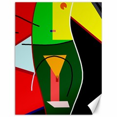 Abstract lady Canvas 12  x 16