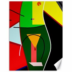 Abstract lady Canvas 18  x 24