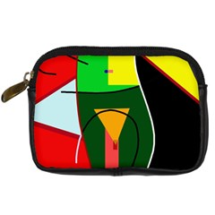 Abstract lady Digital Camera Cases