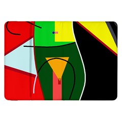 Abstract lady Samsung Galaxy Tab 8.9  P7300 Flip Case